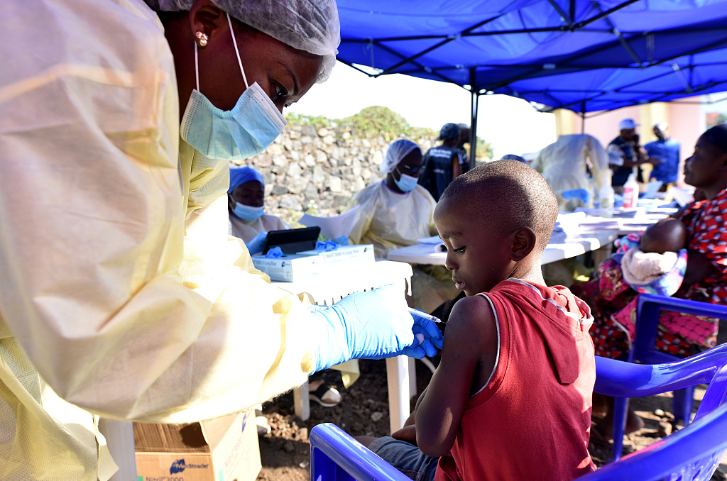 New DRC Ebola coordinator open to second vaccine: WHO