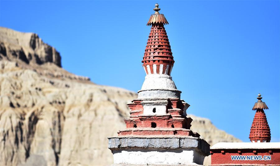 Buddhist activity held at Toling Monastery
