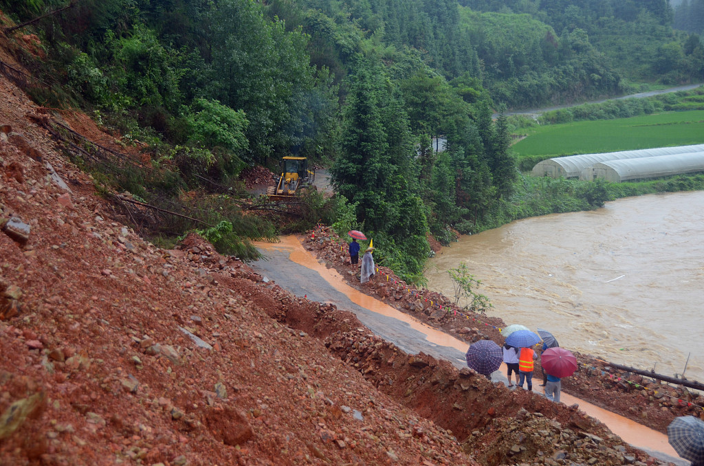 Death toll rises to 20 in SW China landslide