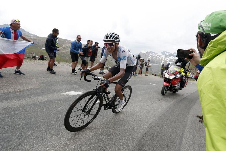Bernal takes yellow jersey as storm throws Tour into chaos