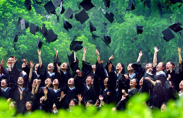 China's gross enrolment ratio in higher education reaches 48 pct