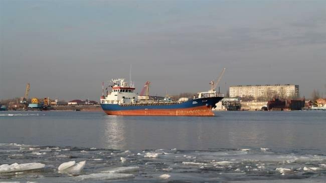 Iranian cargo ship sinks off Azerbaijani coast: state TV