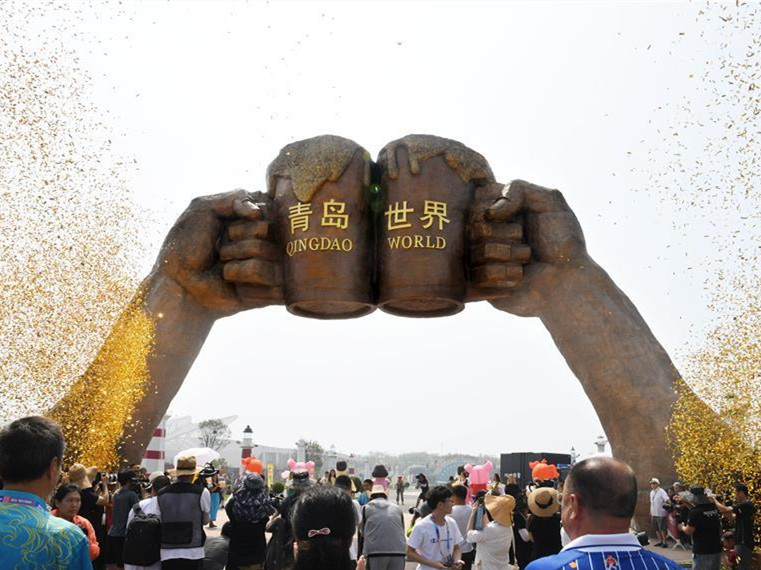 29th Qingdao Int'l Beer Festival kicks off