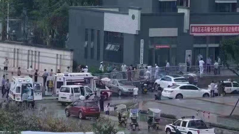 Scores injured in an explosion in SW China