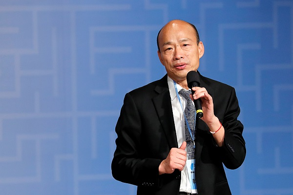 Han Kuo-yu becomes KMT candidate for 2020 Taiwan leadership election