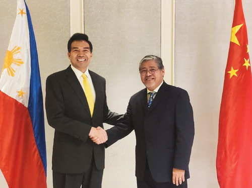 Beijing and Manila agree on friendly ties