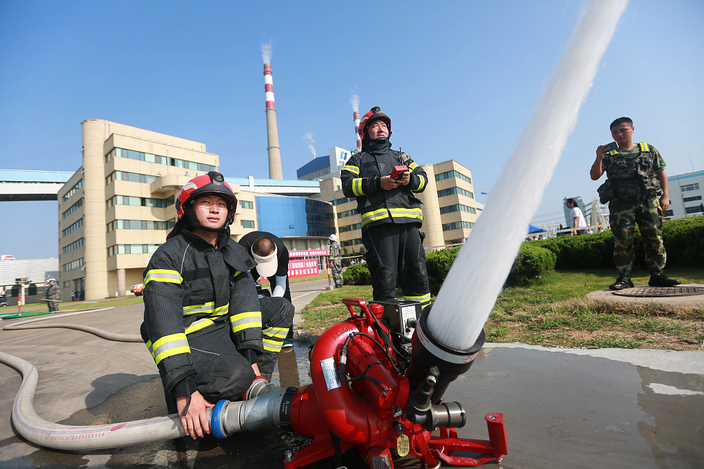 China releases guideline for enhanced reform in fire service