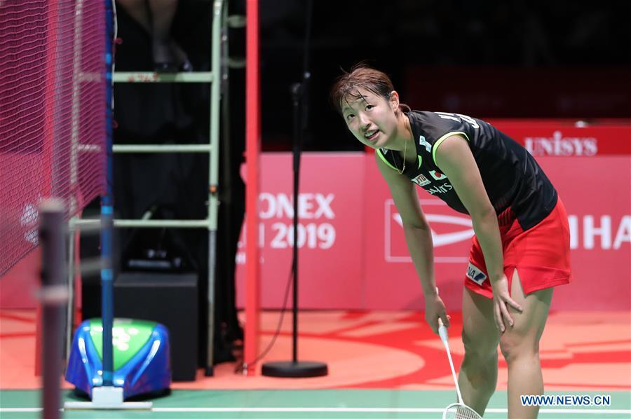 Japan's Akane Yamaguchi wins women's singles at Japan Open