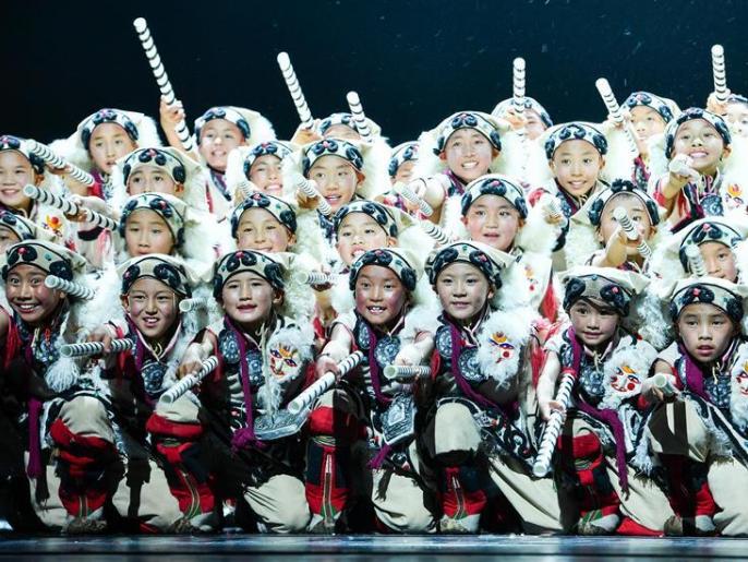 10th 'Xiaohe Elegant Demeanor' National Children's Dance Show staged