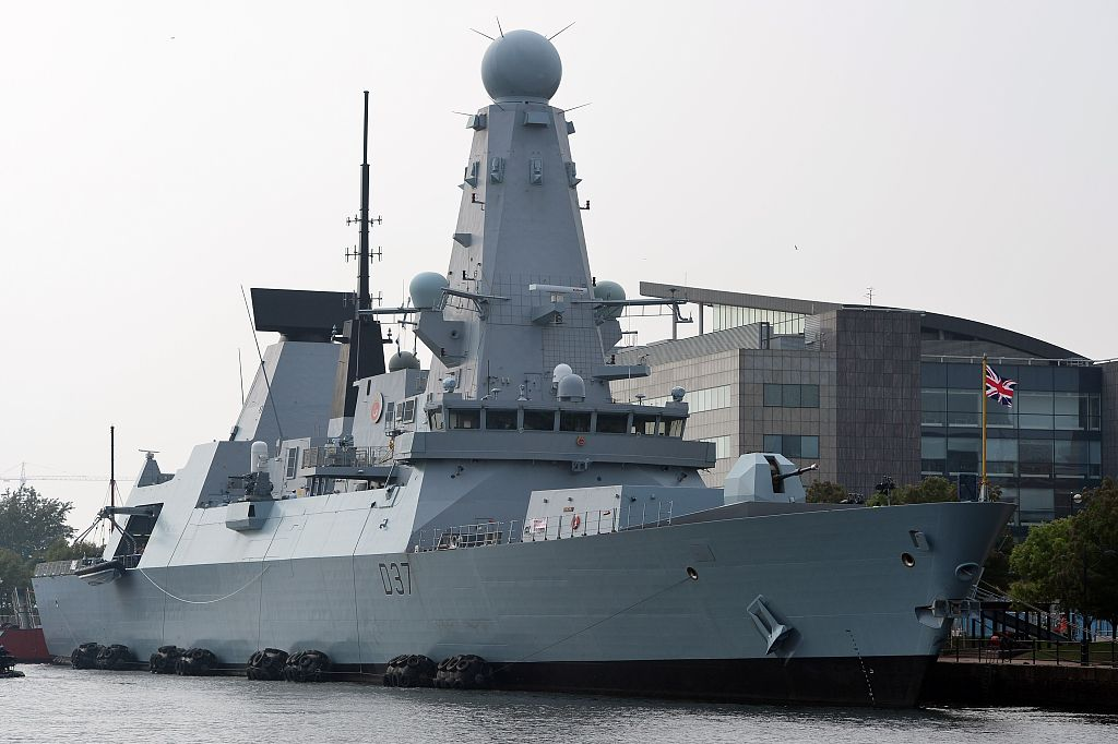 UK warship arrives in Gulf to escort tankers