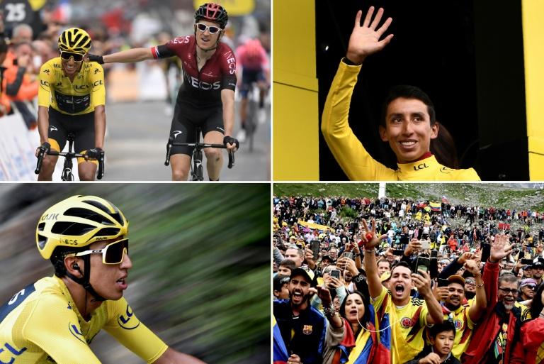 Bernal set for twilight coronation as Tour de France champion
