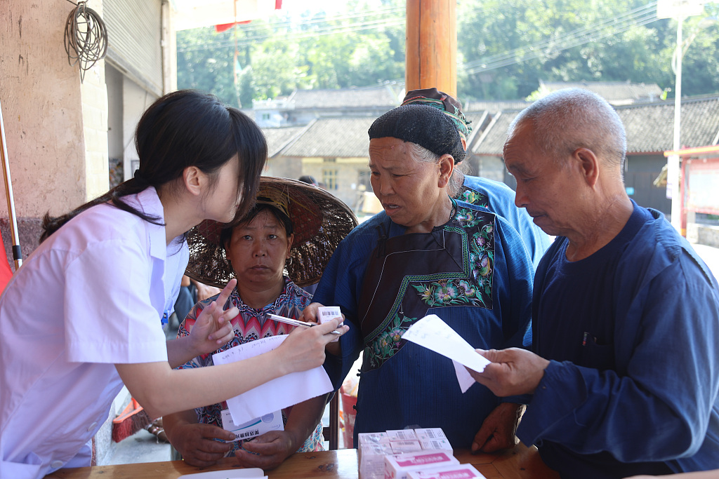 China spends over 8.6 bln yuan to support people in need