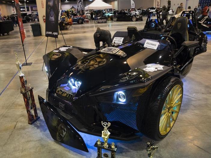 Omni12 Car Show held in Houston, U.S.
