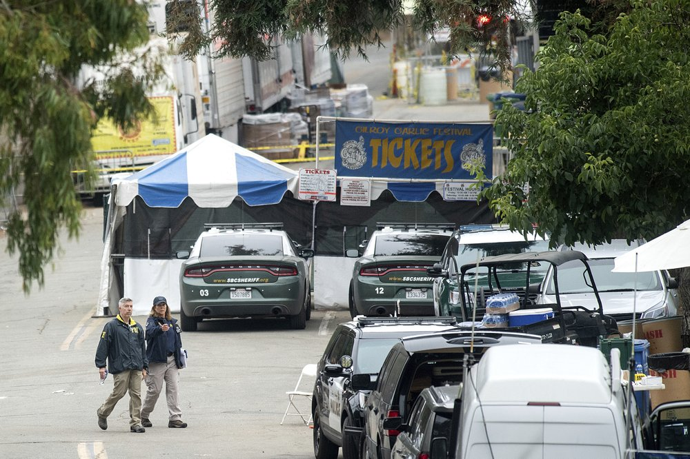 Official names shooter who killed 3 at California festival