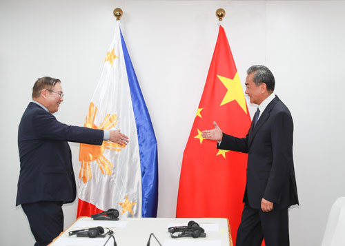 China, Philippines vow to accelerate bilateral cooperation