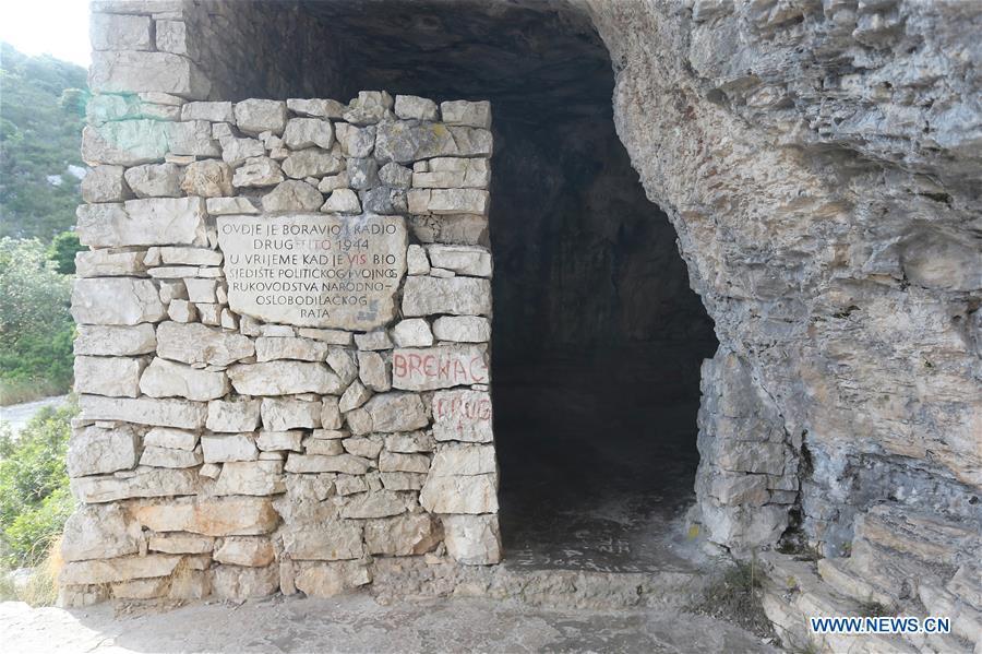 In pics: Tito's Cave on Island of Vis, Croatia