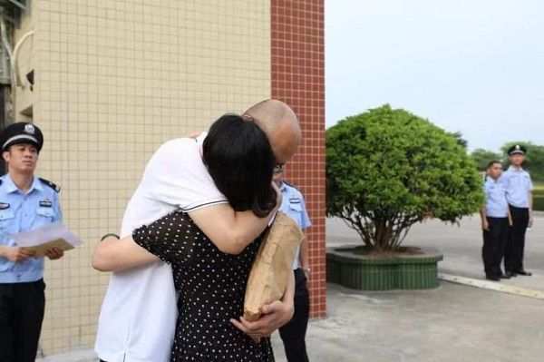China releases pardoned prisoners