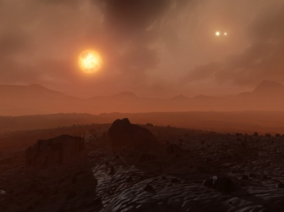 NASA: Alien planet discovered with three red suns