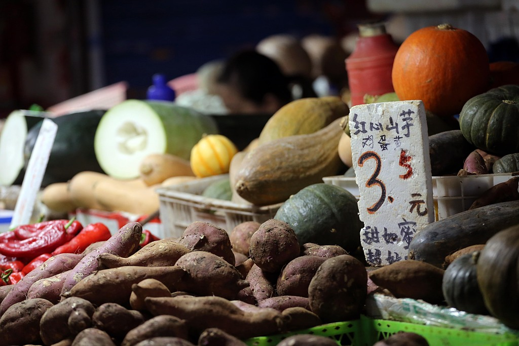 China Shouguang vegetable price index up 4.21 pct