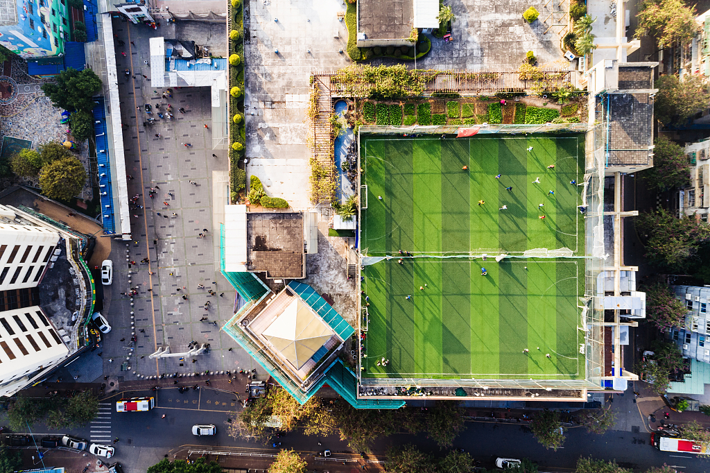 China to fund new football pitches with 2 mln yuan investment