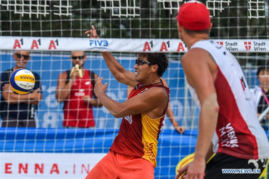 2019 FIVB Beach Volleyball World Tour: Poland beats China 2-1