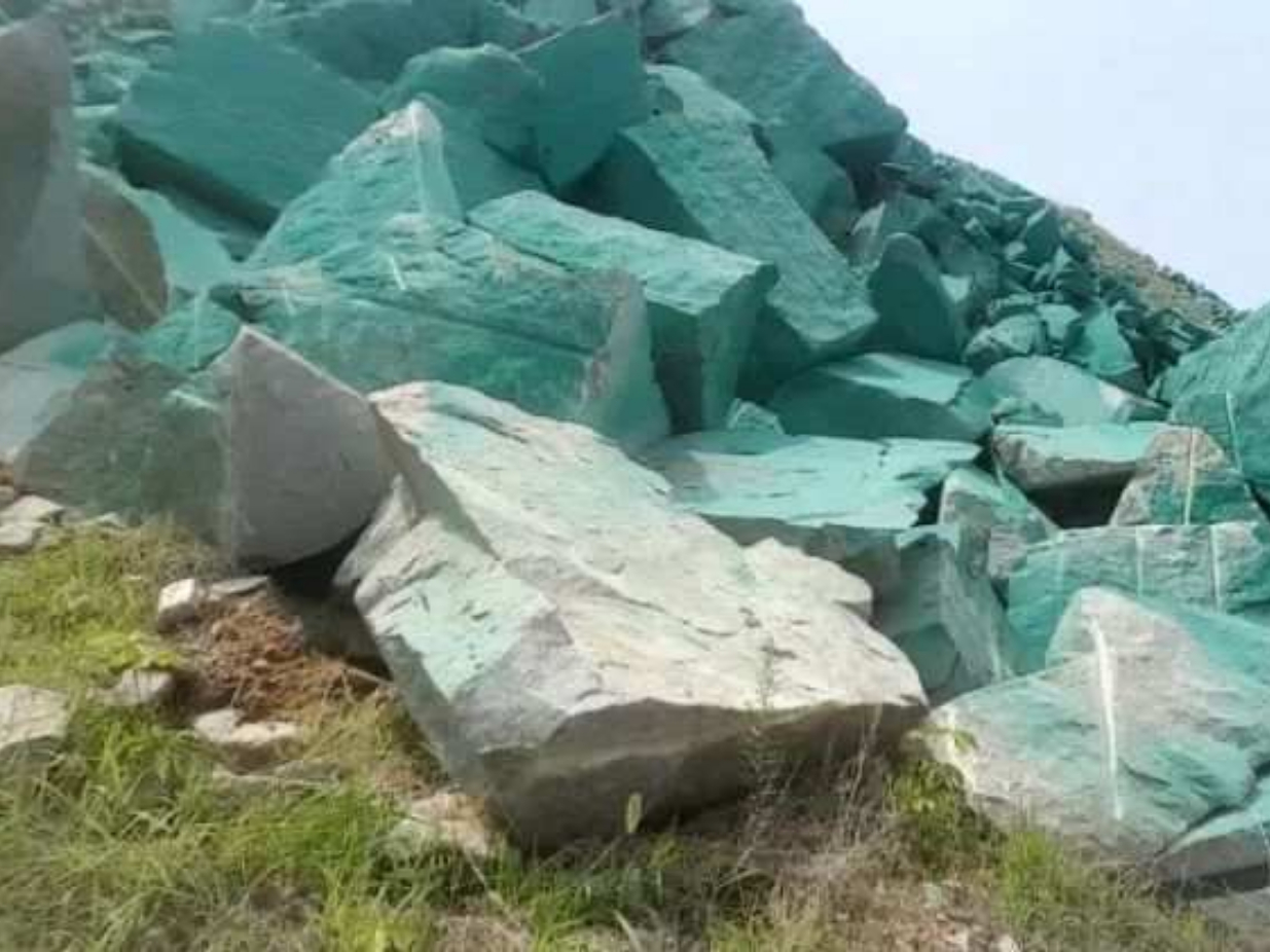 Mine painted green to deceive environmental inspectors