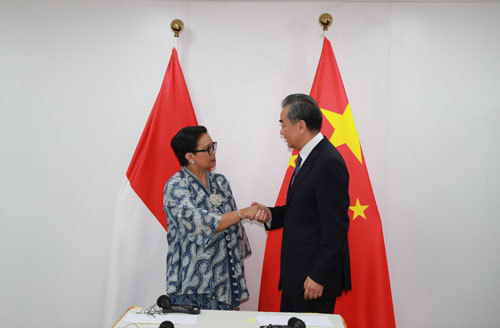 China, Indonesia eye closer high-level exchanges