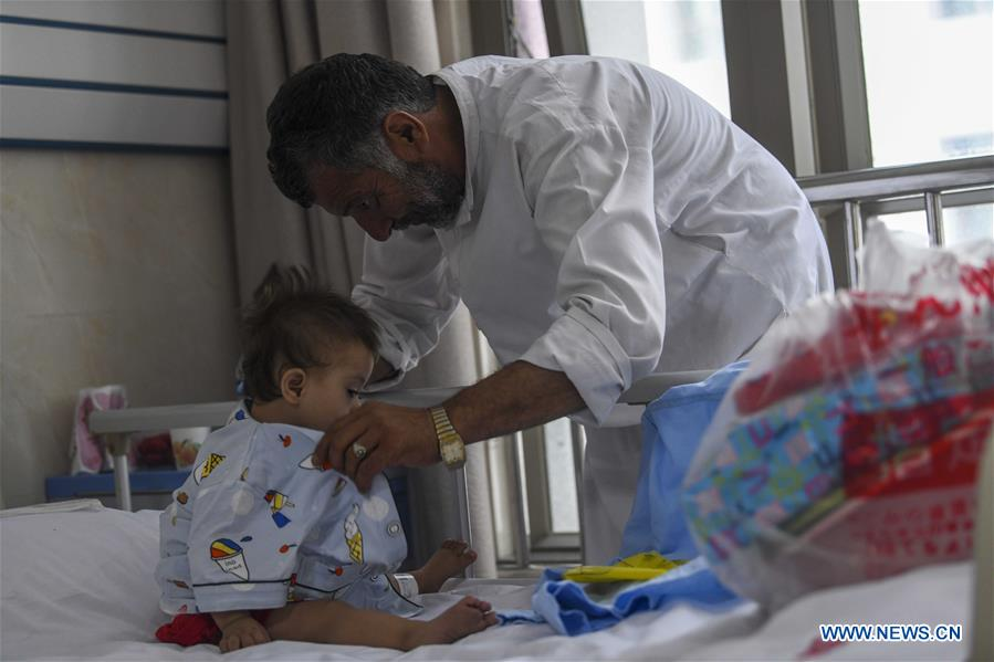 Afghan children arrive in Xinjiang for free cardiac surgery