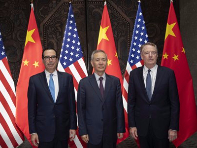 China-US trade talks 'constructive'