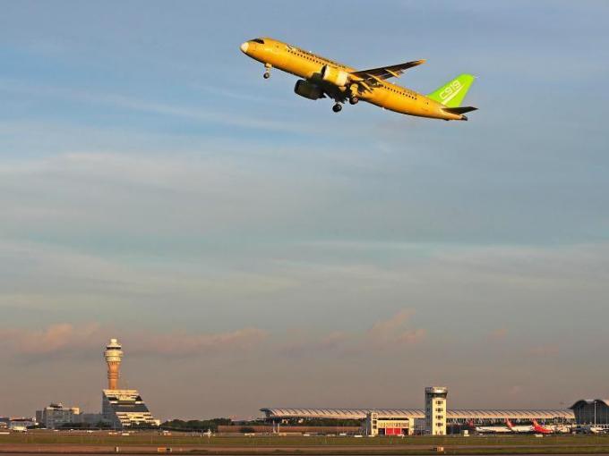 Fourth C919 jet makes maiden test flight
