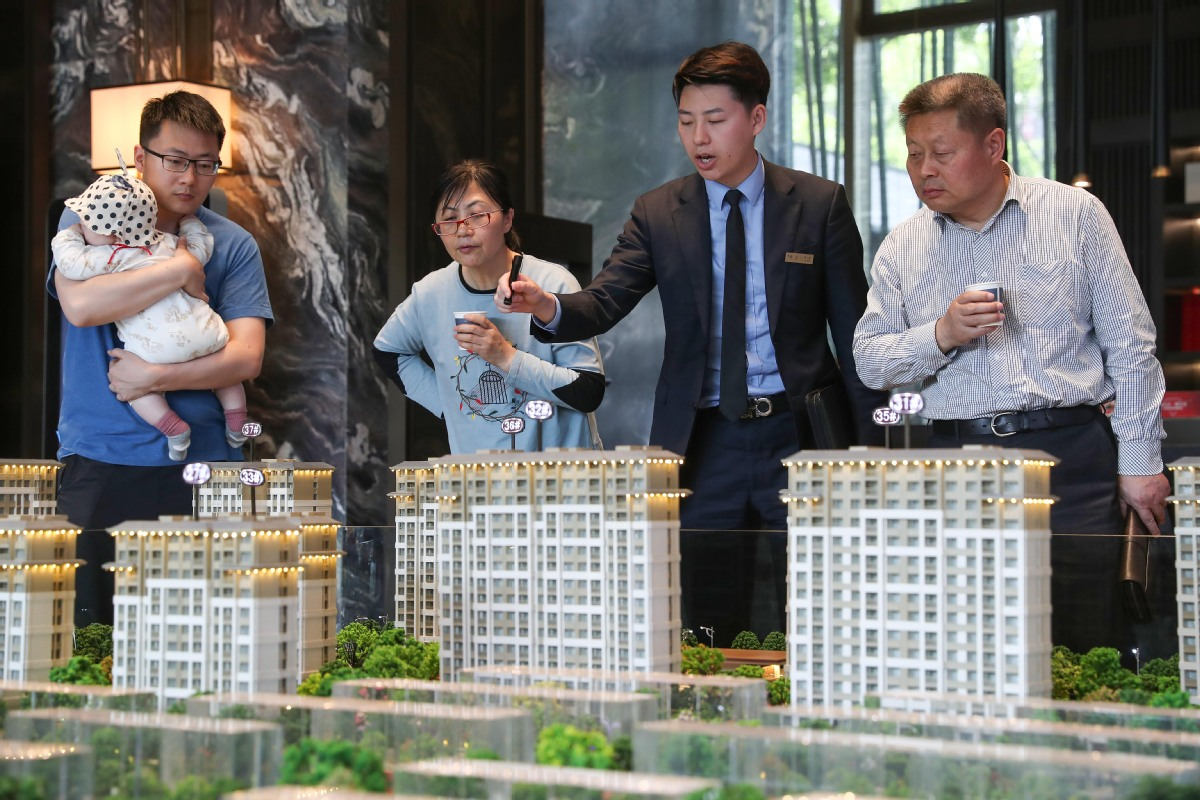 Property sector cooling to help real economy funding