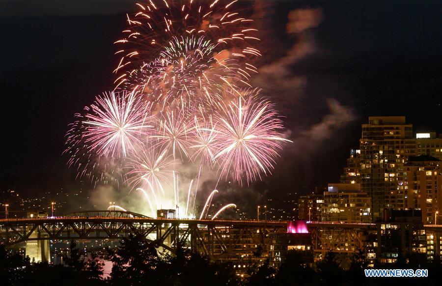 Team Canada lights up sky for annual Honda Celebration of Light