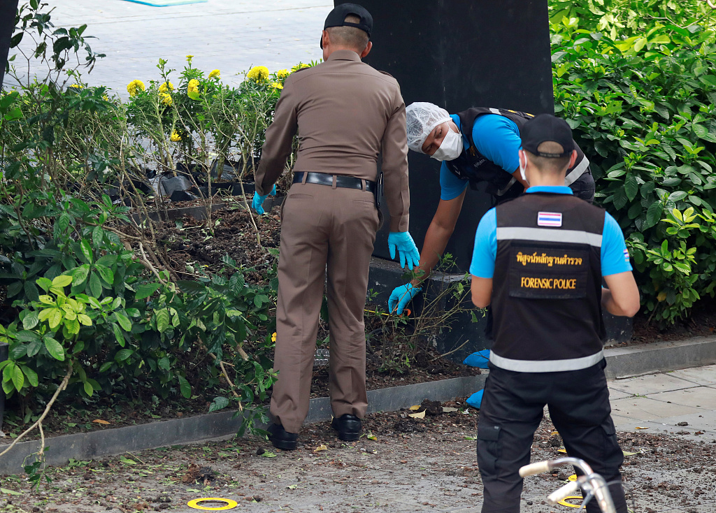 Several suspected explosives found in Bangkok, 2 hurt