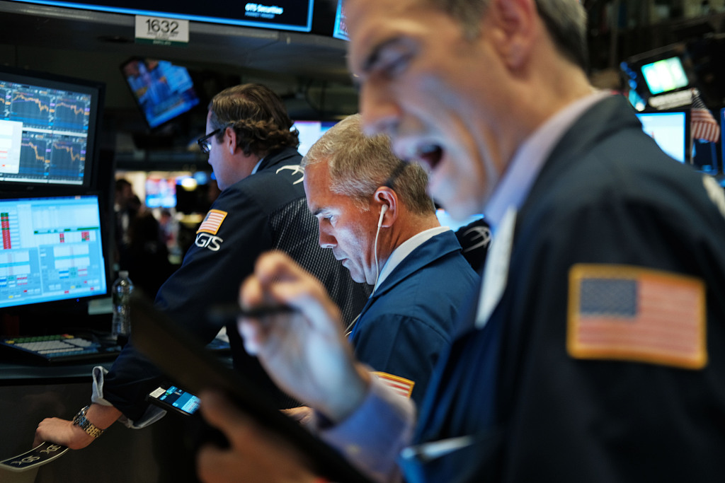 US stocks open lower amid trade concerns, data