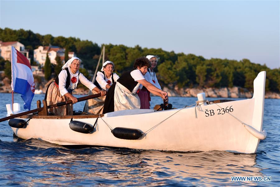 All-female regatta event held in Croatia