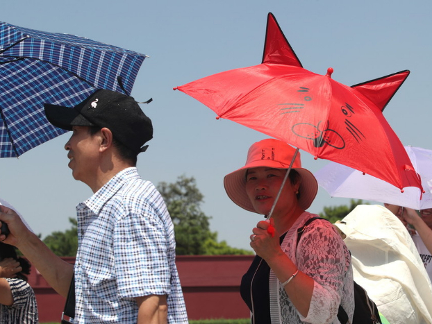 Chinese heatwave to subside
