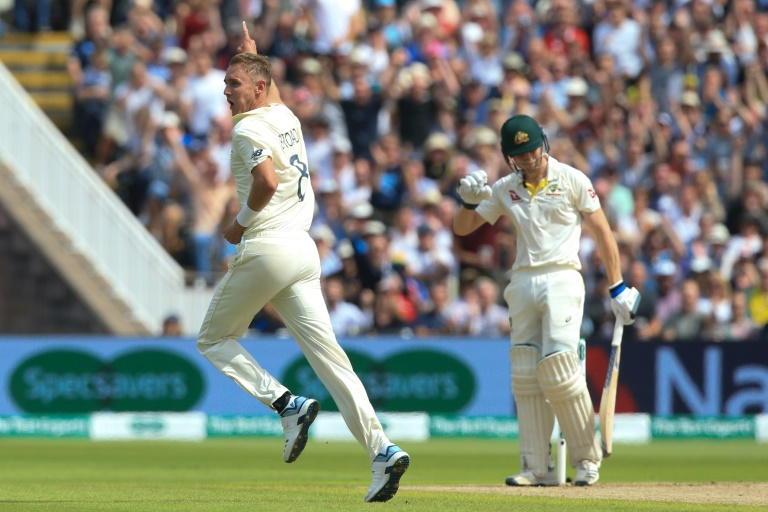 Australia fight back in Ashes opener after Broad double