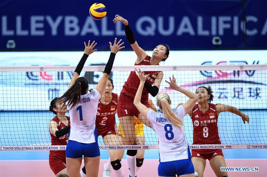 China take opening win in Olympic volleyball qualification