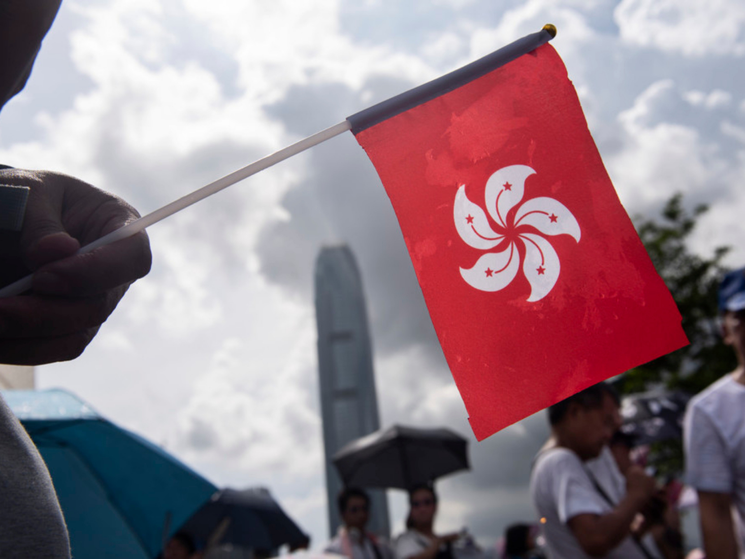 China says it will not tolerate external forces to interfere in HK affairs