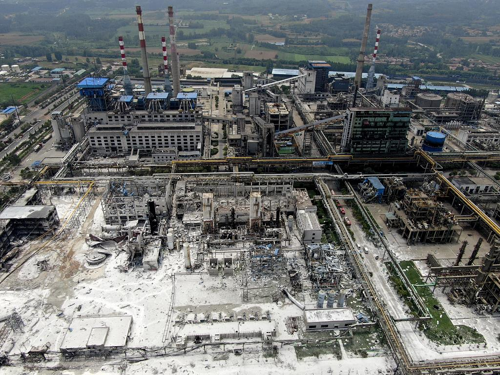 China questions local officials, persons responsible for deadly gas factory blast