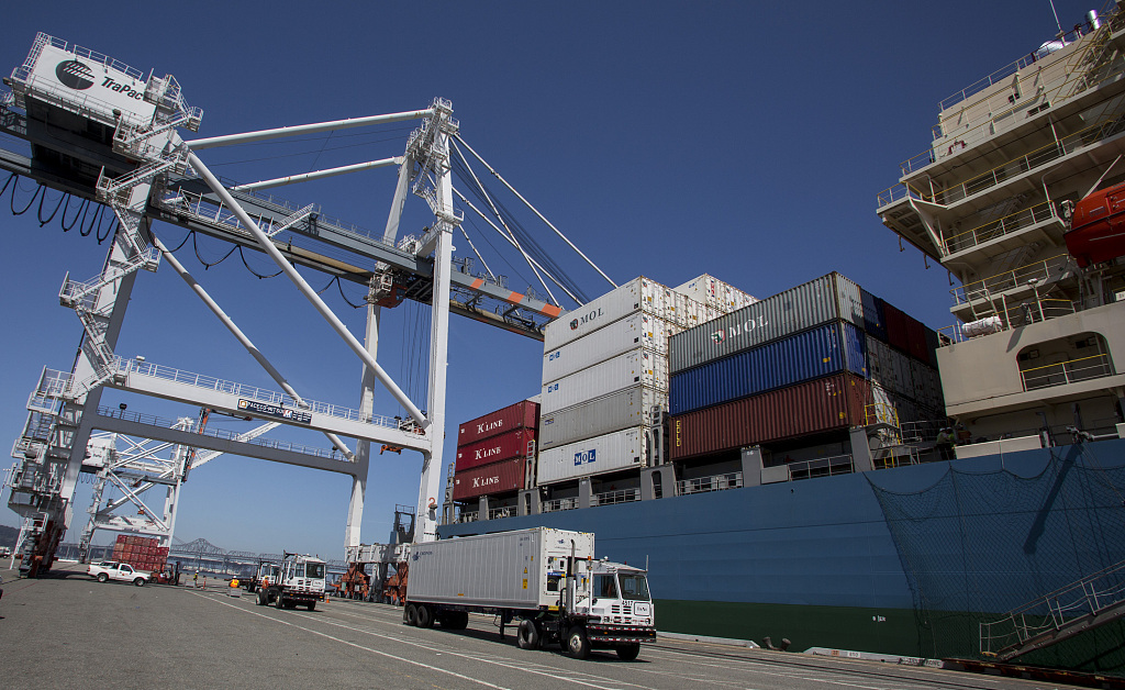 US trade deficit narrows slightly amid escalating trade tensions
