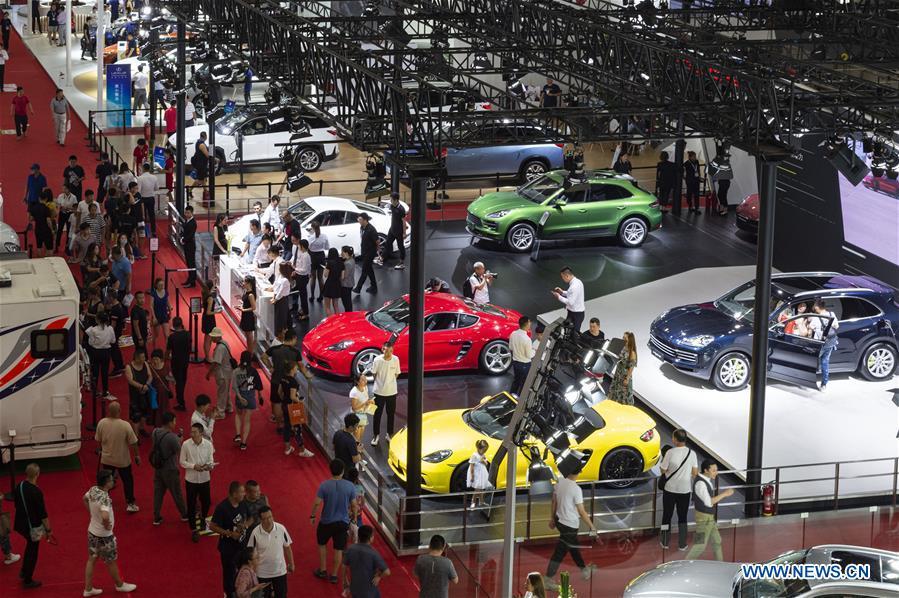 22nd Harbin Int'l Automobile Exhibition kicks off