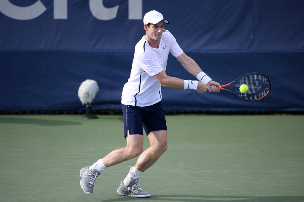 Andy Murray, brother Jamie ousted in Citi Open doubles