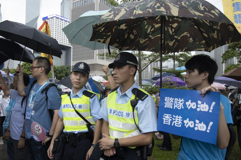 Hong Kong police vow to combat escalating violence