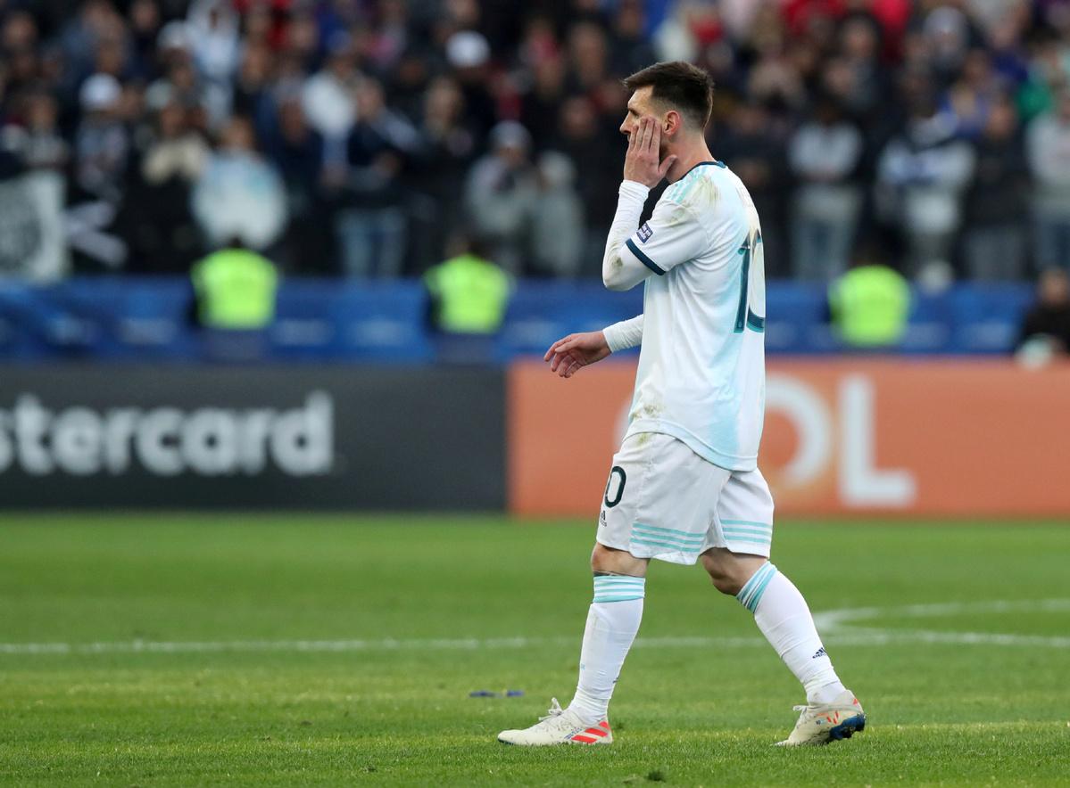 Messi given three-match international ban