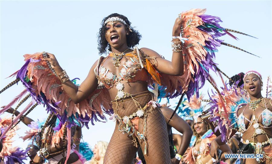Annual Caribbean Carnival Grand Parade held in Toronto