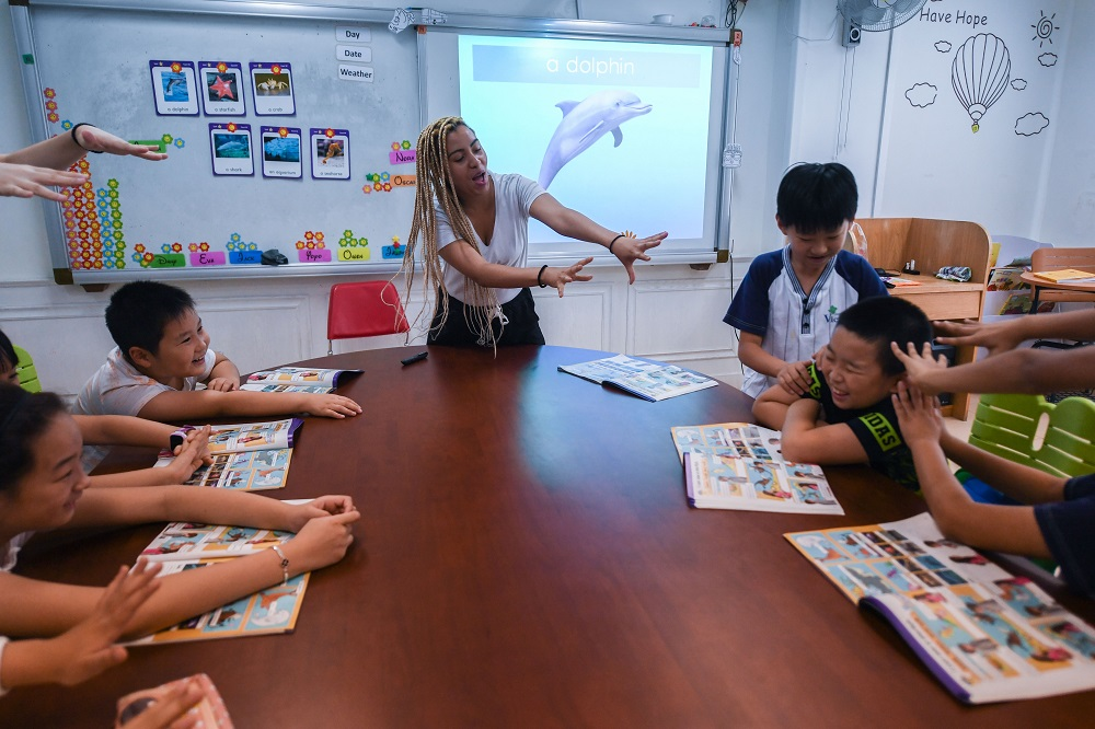 Action taken over illegally hired foreign English teachers