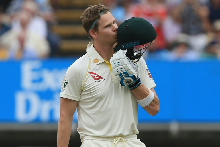 Smith scores second century of Ashes opener as Australia build lead