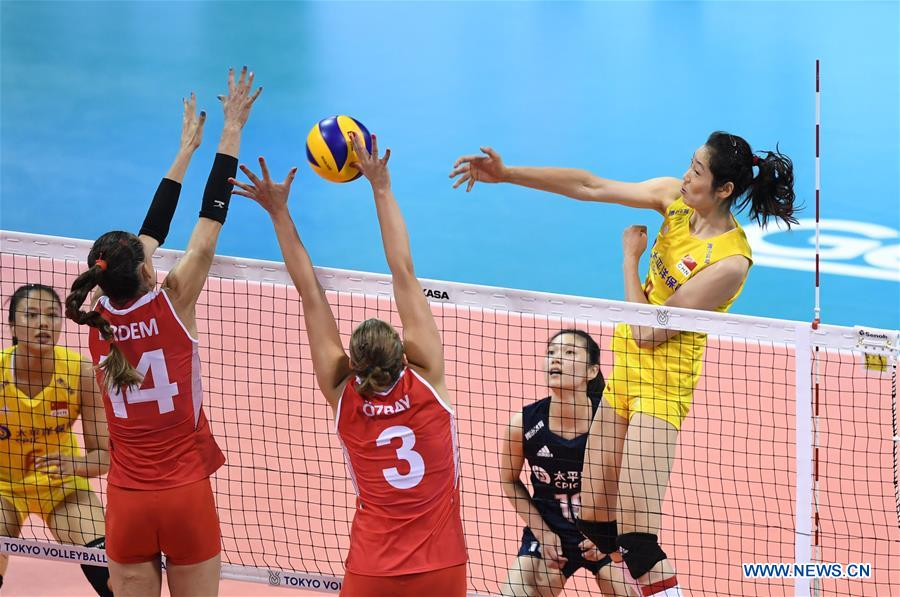 China's women volleyball secures Olympic slot