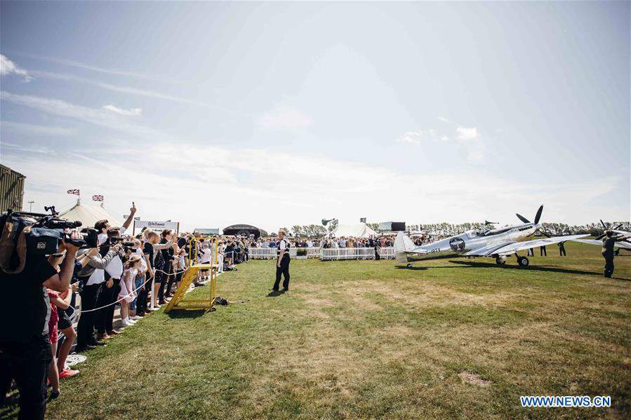 'Silver Spitfire - The Longest Flight' expedition launched in Goodwood, Britain